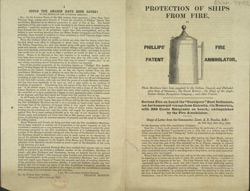 Advert for Phillips' Fire Annihilator